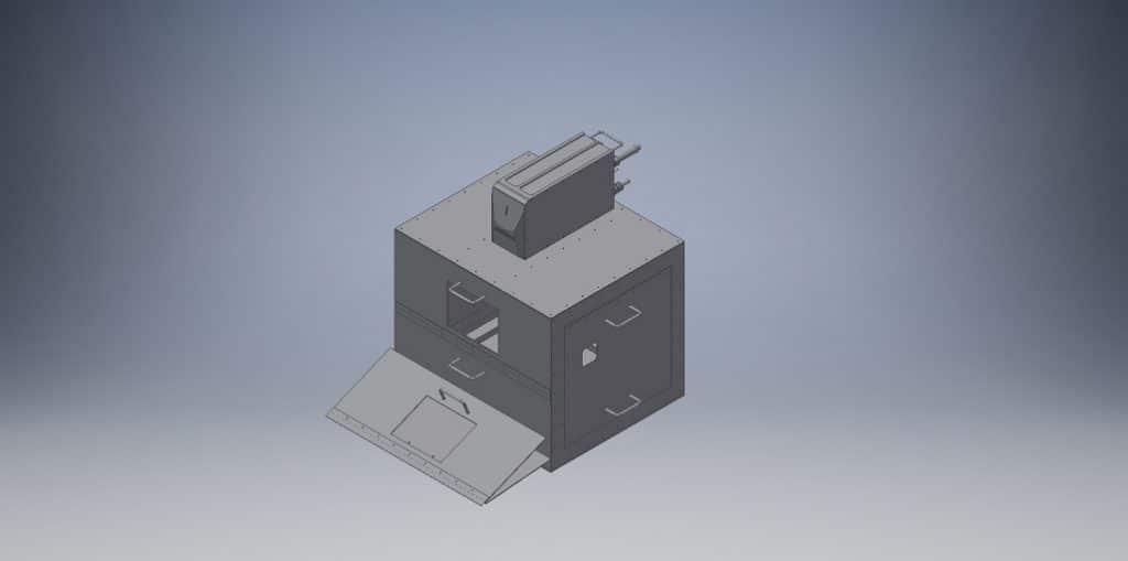 3D CADでモデルを作図