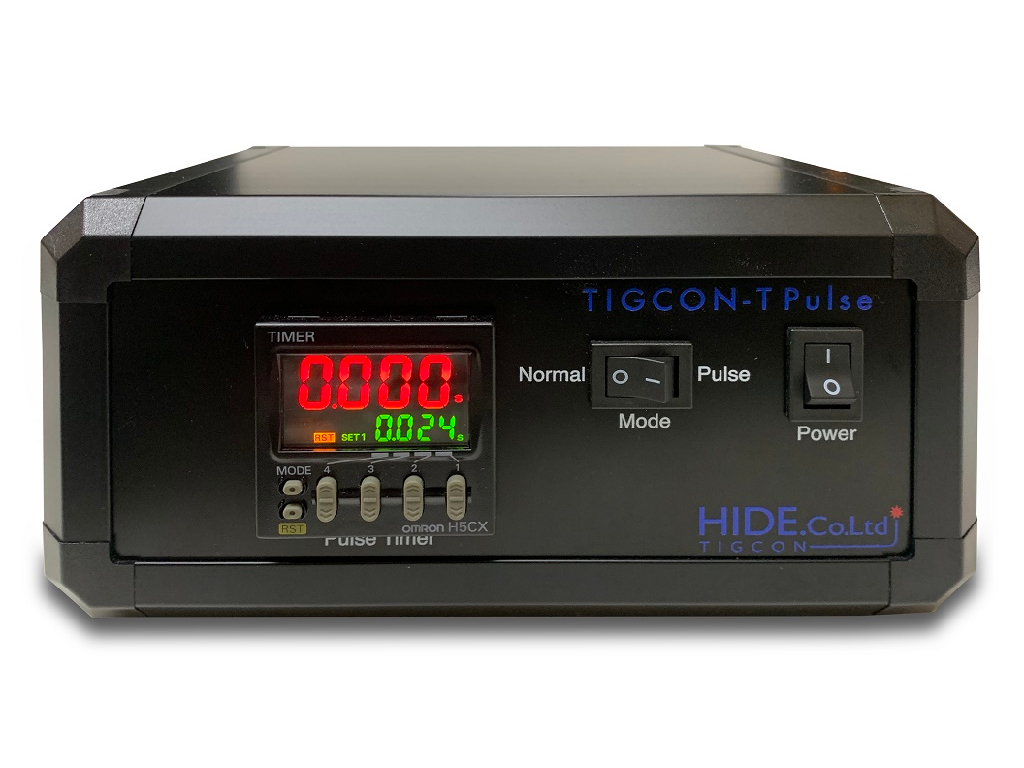 TIG溶接機で歪の少ない溶接を<br>TIGCON-T Pulse