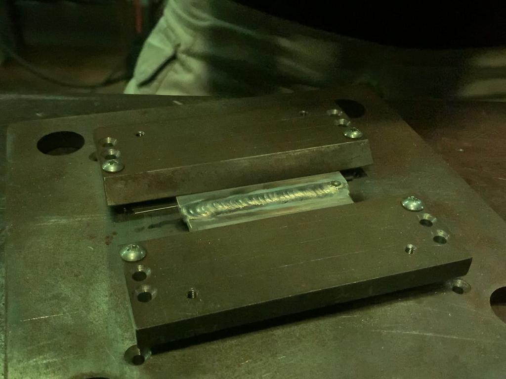 マグネシウムのTIG溶接